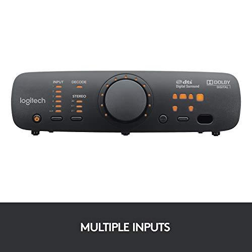Logitech Z906 3D Stereo Lautsprecher THX (Dolby 5.1 Surround Sound und 500Watt) schwarz - 6