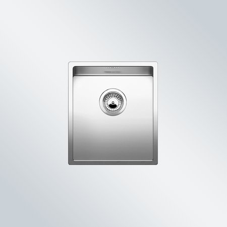 Preisvergleich Produktbild Blanco Claron 340-IF Edelstahl-Spültisch flächenbündig Küchenspüle Spülbecken