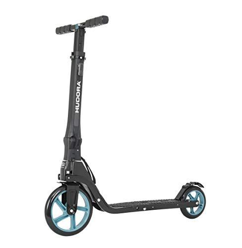 HUDORA Tour Big Wheel Scooter 200 Roller, Petrol one Size