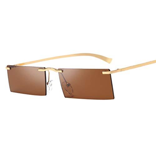 Honestyi Frauen Weinlese Augen Sonnenbrille Retro Eyewear Art Strahlenschutz Retro Sonnenbrille H02