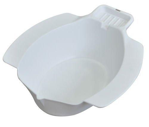 Bidet Bidetbecken Sitzbad Sitzbecken Sitzwanne Einsatz-Bidet Kunststoff, weiß
