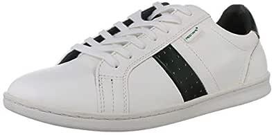 Red Tape Men's RTE1087 White and Green Sneakers-8 UK/India (42 EU) (RTE1087-8)