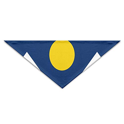 Denver Kostüm - BigHappyShop Flag of Denver Pet Scarf Dog Neckerchief Puppy Triangle Triangle Bibs Scarfs for Pet Dogs