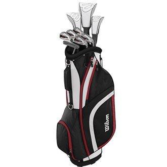 Wilson 2017 Ladies X31 High Launch Technology Womens Golf Package Set Graphite/Steel Right Hand(Standard (Gesicht Putter)
