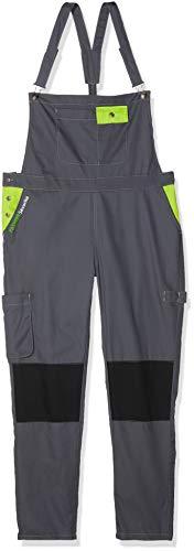 Fashion Securite 660144Pep 's Latzhose-Arbeit Größe XL, grau/lime
