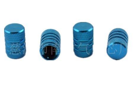 W. Air Fit auf Auto, Fahrrad oder Motorrad Ventile Staub Kappen | 8verschiedene Farben erhältlich himmelblau