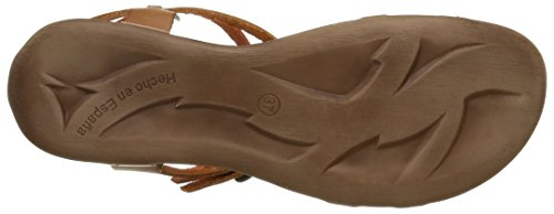 Kickers Ana, Sandales femme Marron (Marron Multicolore/Orange)