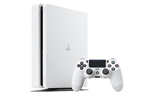 PlayStation 4 D Chassis 500GB, Slim White - Limited