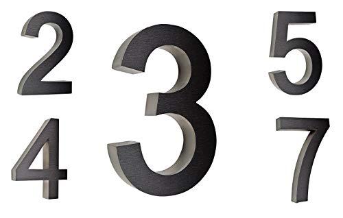 Wandbriefkasten / Briefkasten / Mailbox Modell 888 anthrazit-grau RAL7016 mit Zeitungsfach - 7