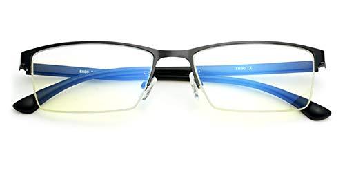 TIJN Blaulichtfilter Brille Anti-Blaue Licht Blockieren Brille ohne sehstärke Computer Brille Nerd Clear Brille