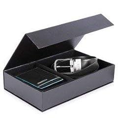 Idea Regalo - Cofanetto regalo con cintura uomo CU4553B2