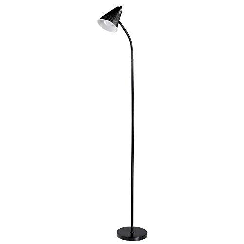 novogratz LED für Life 149,9cm einflammig LED Stehleuchte, schwarz matt Finish, Kunststoff MESH Schatten, 1x A1910W, entspricht 60W LED-Leuchtmittel inklusive 12708 -