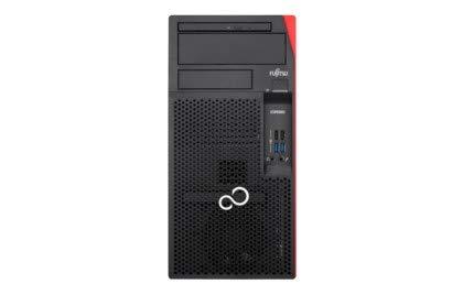 Fujitsu ESPRIMO P558/E85+ VFY:P0558PP584DE Komplett-PC, schwarz, Windows 10 Pro