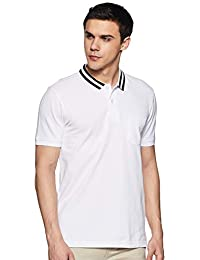 Amazon Brand - Inkast Denim Co. Men's Solid Slim fit Polo