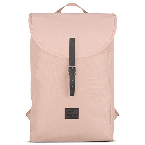 Johnny Urban Rucksack Damen & Herren Rosa Liam Pink Daypack aus Recycelten PET Flaschen - Hochwertiger Tagesrucksack Backpack für Uni Bür...