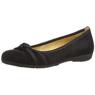 Gabor Shoes Damen Gabor Casual Geschlossene Ballerinas, (schwarz 17), 39 EU