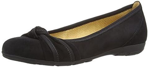 Gabor Shoes Gabor Sport, Damen Geschlossene Ballerinas, Schwarz (schwarz 17), 44 EU (9.5 Damen UK)