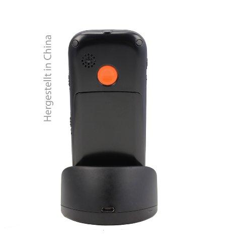 swisstone BBM 320 – Seniorenhandy mit Notruftaste (4,3 cm (1,7 Zoll) Display, 600mAh Akku) schwarz - 3