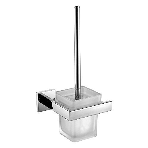 Leidener Wall Mount Chrome Finish Edelstahl Material WC-Bürstenhalter -