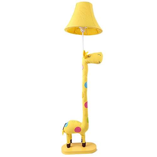 FEIFEI Kinder Cartoon Stehleuchte Kreative Schöne Tuch Kann gedreht werden Licht Pole Tier Licht gelten für Schlafzimmer Wohnzimmer ( Farbe : Netzschalter-Taste ) (Pole-licht-schalter)