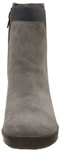 Stonefly Damen Oprah 2 Velour Chelsea Boots Schwarz (litio)