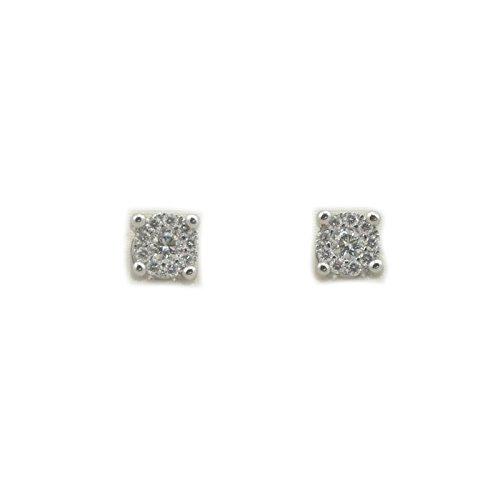 Recarlo - Orecchini Recarlo in oro bianco 18 kt carati con diamanti