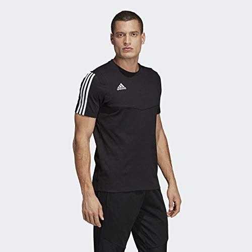 adidas Herren TIRO19 Tee T-Shirt, Black/White, 2XL