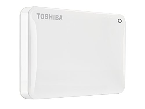 Toshiba Canvio Connect II 1 TB Mobile Festplatte (6,4 cm (2,5 Zoll) USB 3.0) weiß