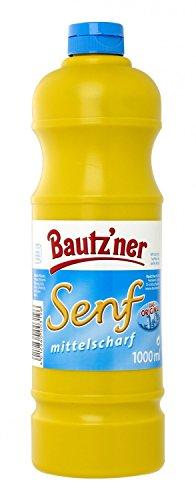 Bautz\'ner - Senf mittelscharf - 1000ml