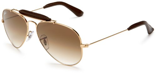 ray ban 3422q sunglasses  ray ban sonnenbrille aviator craft (rb 3422q 001/51 58): ray ban: amazon.co.uk: clothing