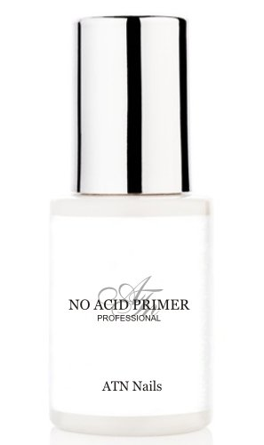 ATNails Nail Primer - NON ACID BONDER Uv Gel & Acrylic Nails 15ml bottle with brush