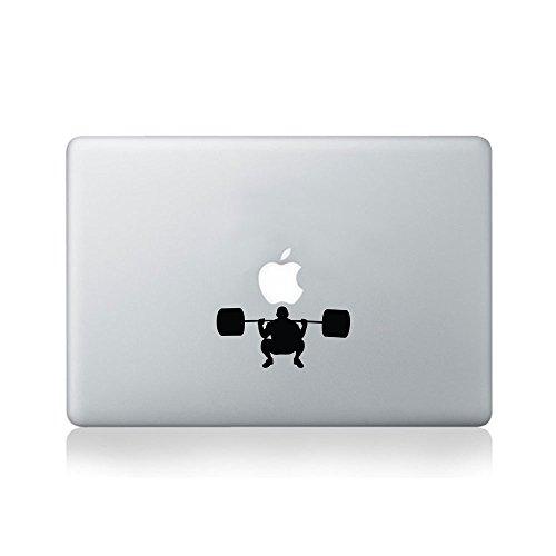 Dead Lift Trainer Aufkleber fur Macbook (13/15) oder Laptop