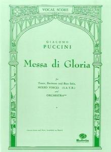 Giacomo Puccini: Messa Di Gloria (Vocal Score)