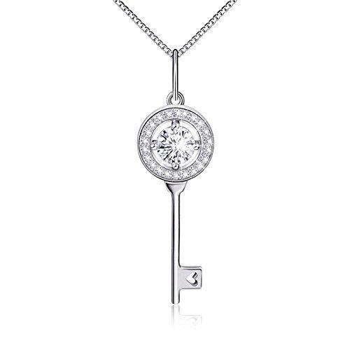argent-sterling-cz-coeur-de-cristal-pendentif-cle-chaine-457-cm