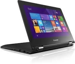Lenovo Yoga 300 80M0007KIN 11.6-inch Laptop (Pentium Quad Core N3540/4GB/500GB/Windows 10/Integrated Graphics), Black