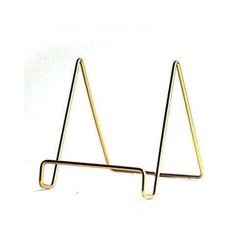 KELE Nordischer Wind Gold Eisen Ipad-Halter Zeichen Notebook Laptop ständertablette Buchständer Kochbuchständer Notenständer dokument Tischständer-A - Ipad Für Rezept-halter