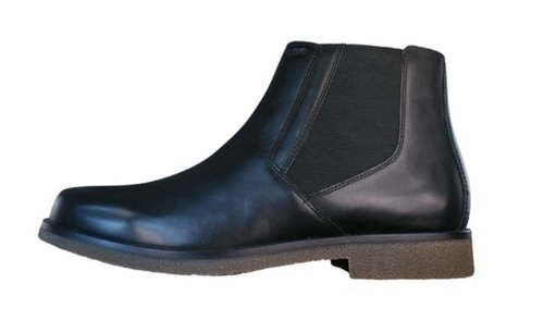 Geox UOMO CLAUDIO, Bottes Chelsea courtes, doublure froide hommes