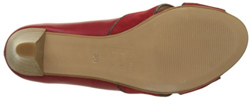 Bensimon Damen Pump Open Pump Rot (rot)