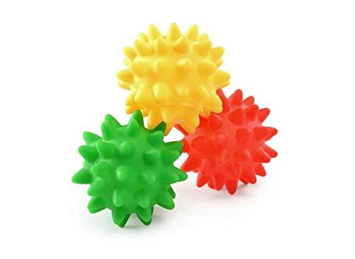 PET Toy Home Peel-Resistant Pet Dog Toy Ball Gesangsmolaren Hundetraining Supplies (zufällige Farben) Gesangsdornen - Home Peel