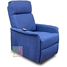 Blu Relax Poltrone.Amazon It Poltrone Relax Blu