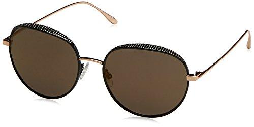Jimmy Choo Damen ELLO/S HJ PL0 56 Sonnenbrille, Schwarz (Bkgdcopp Blk/Gun Metal Fl),