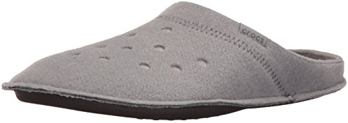 Crocs Classic Slipper, Chaussons Mules Mixte Adulte Gris (Smoke/Oatmeal)