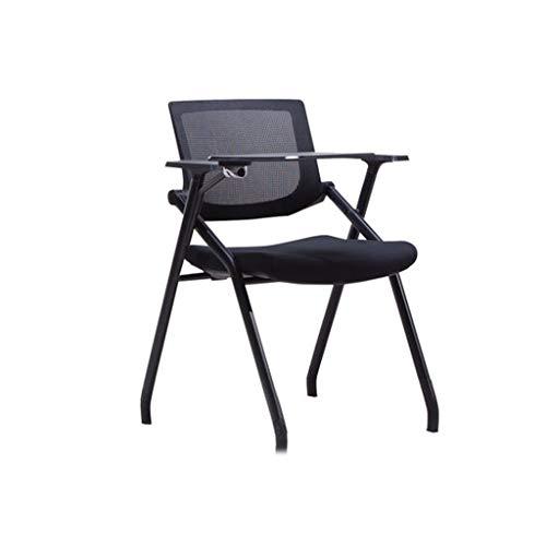 Fangfang sedia girevole sedia da bar con wordpad mobile classroom conference office nero 50 * 50 * 47cm (color : without wheels)