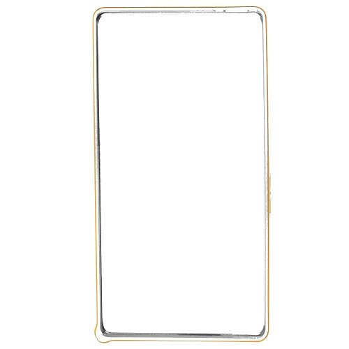 Casotec Metal Aluminium Bumper Frame Case Cover for Sony Xperia Z - Silver  available at amazon for Rs.299