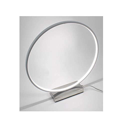Meubletmoi Lampe Circle Design et Originale LED - Eclairage Dynamique Blanc - Classe énergétique A++ - Hoop