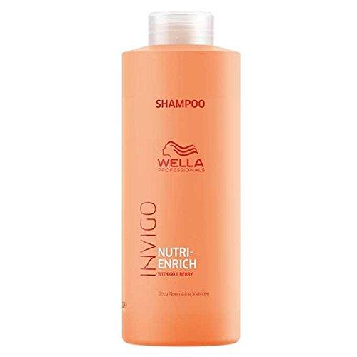 Wella Invigo Nutri-Enrich Deep Nourishing Shampoo 1000 ml Nährt beanspruchtes Haar mit Goji Beeren