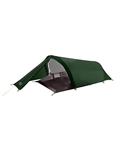 Jack Wolfskin Gossamer II Outdoor 2 Person Tunnelzelt Zelt, Mountain Green, One Size -