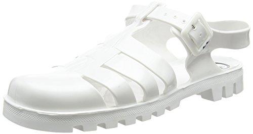 JuJu ShoesMAXI - Sandali donna , Bianco (Bianco (White)), 38