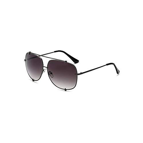 MINGW Men Pilot Sun Glasses for Male Oversized Shades Female Steampunk Sunglasses