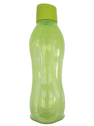 1a Tupper Trinkflasche EcoEasy Flip Top Flasche 750ml grün-gelb